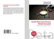 Bookcover of South-West Asia Service Medal (Canada)