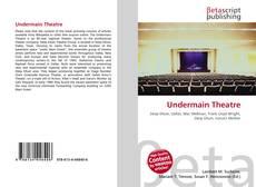 Capa do livro de Undermain Theatre