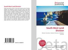 Bookcover of South-West Land Division