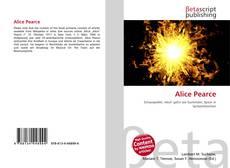 Bookcover of Alice Pearce