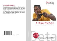 Bookcover of F-1 Grand Prix Part 2