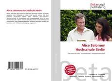 Portada del libro de Alice Salomon Hochschule Berlin
