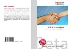 Bookcover of Alice Schwarzer