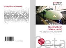 Portada del libro de Kinzigtalbahn (Schwarzwald)
