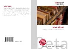 Bookcover of Alice Shalvi