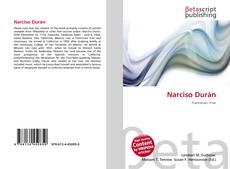 Narciso Durán kitap kapağı