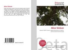 Portada del libro de Alice Ströver
