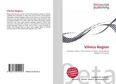 Bookcover of Vilnius Region