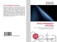 Copertina di Vilnius Pedagogical University