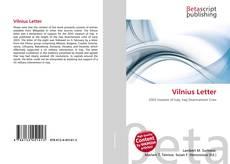 Обложка Vilnius Letter