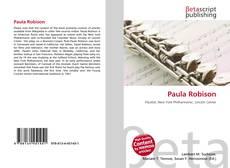 Bookcover of Paula Robison