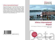 Copertina di Vilnius International Airport