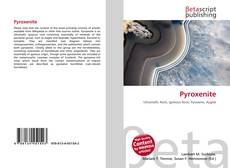 Couverture de Pyroxenite