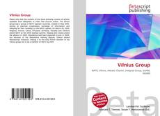 Bookcover of Vilnius Group