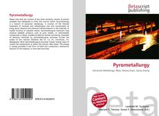 Bookcover of Pyrometallurgy