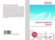Capa do livro de Raschèr Saxophone Quartet