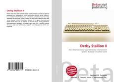 Обложка Derby Stallion II