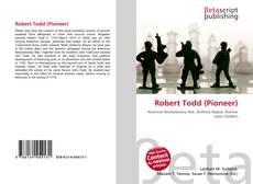 Bookcover of Robert Todd (Pioneer)