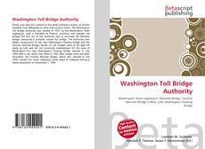 Capa do livro de Washington Toll Bridge Authority