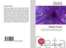 Portada del libro de Robert Tizard