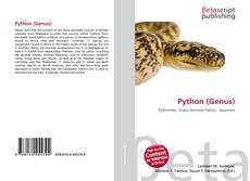 Bookcover of Python (Genus)