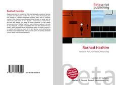 Capa do livro de Rashad Hashim
