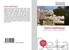 Bookcover of Python (Mythology)