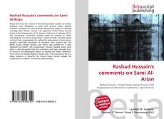 Bookcover of Rashad Hussain's comments on Sami Al-Arian