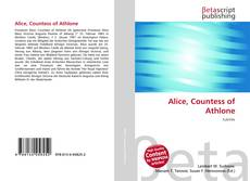 Capa do livro de Alice, Countess of Athlone