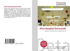 Bookcover of Alice-Hospital Darmstadt