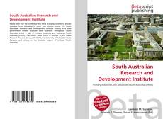 Bookcover of South Australian Research and Development Institute
