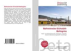 Buchcover von Bahnstrecke Eichstätt-Beilngries