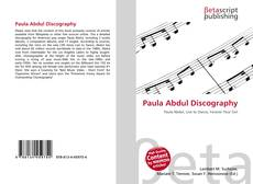 Bookcover of Paula Abdul Discography