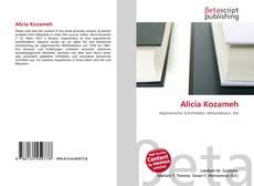Buchcover von Alicia Kozameh