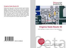 Bookcover of Virginia State Route 45