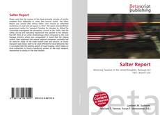 Bookcover of Salter Report
