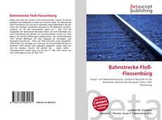 Bookcover of Bahnstrecke Floß-Flossenbürg