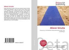 Bookcover of Aliecer Urrutia