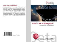 Capa do livro de Alien – Die Wiedergeburt