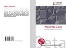Portada del libro de Alien (Programm)