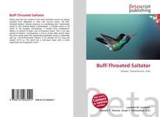 Bookcover of Buff-Throated Saltator