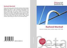 Couverture de Rasheed Marshall