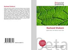 Rasheed Shekoni kitap kapağı