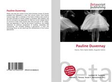 Bookcover of Pauline Duvernay