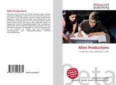 Alien Productions kitap kapağı