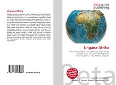 Bookcover of Ungana-Afrika
