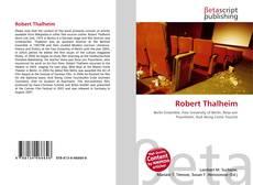 Bookcover of Robert Thalheim