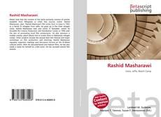 Capa do livro de Rashid Masharawi