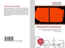 Capa do livro de Unheimliche Geschichten