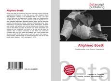 Alighiero Boetti的封面